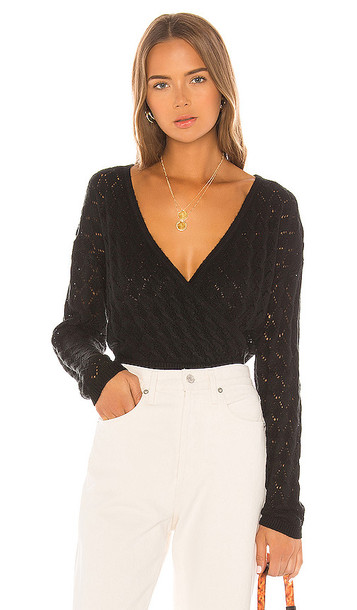 Tularosa Soma Sweater in Black