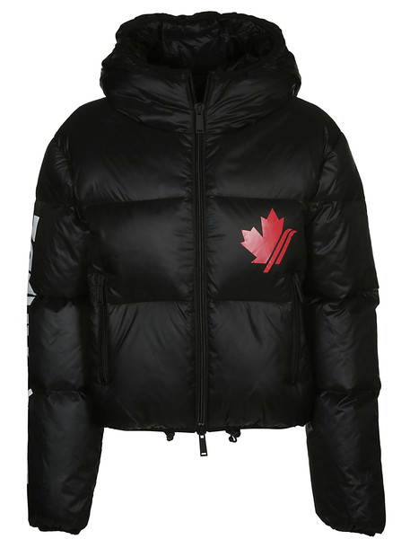 Dsquared2 Hooded Down Jacket in black