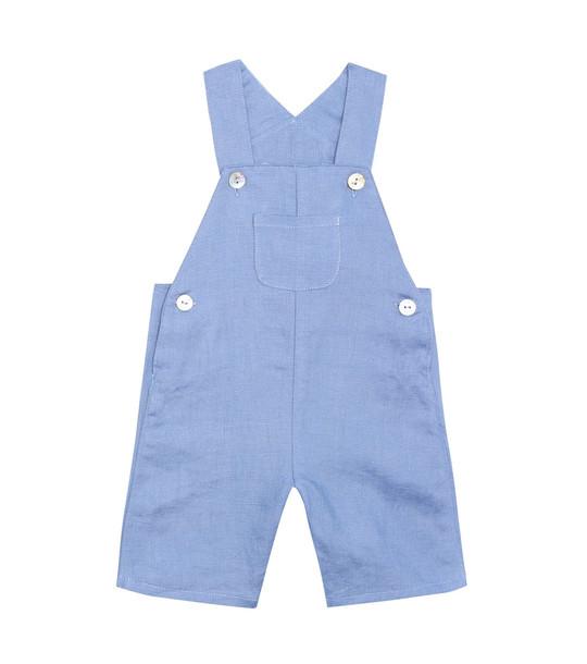Tartine et Chocolat Baby linen jumpsuit in blue