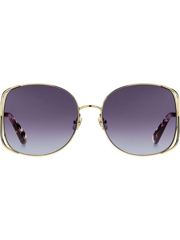 Kate Spade Emylee sunglasses in gold