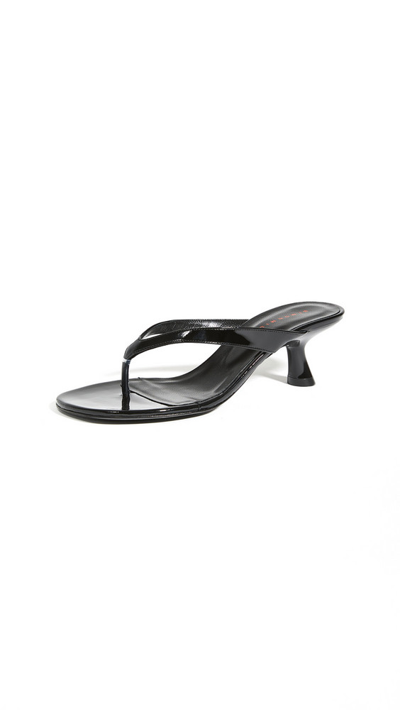 Simon Miller Beep Thong Sandals in black