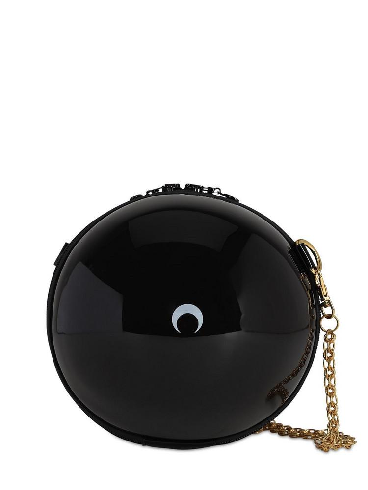 MARINE SERRE Moon Print Ball Bag in black