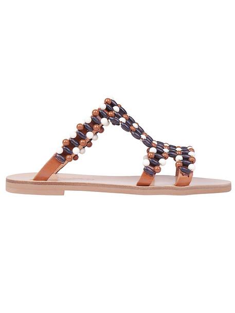 Elina Linardaki Choco Chips Sandals in multi