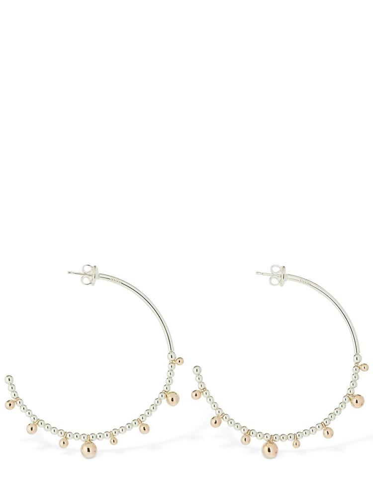 DODO Bolliicine Big Hoop Earrings in gold / silver