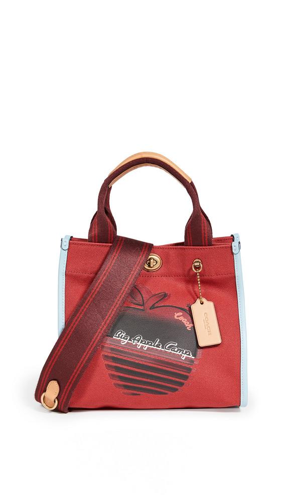 Coach 1941 Apple Shadow Small Tote in red