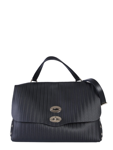 Zanellato Medium Postal Bag in nero
