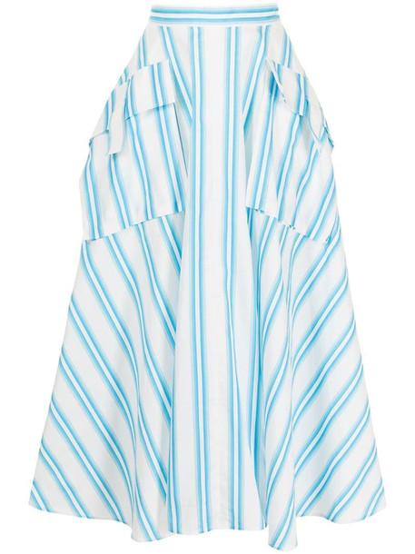 Rejina Pyo striped midi skirt in blue