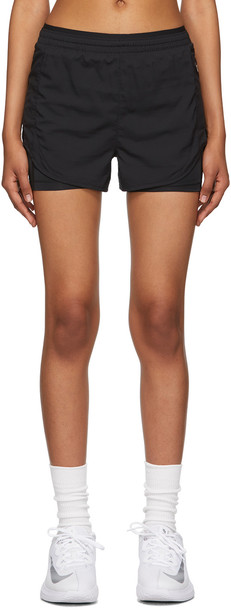 Nike Black Tempo Luxe 2-In-1 Shorts