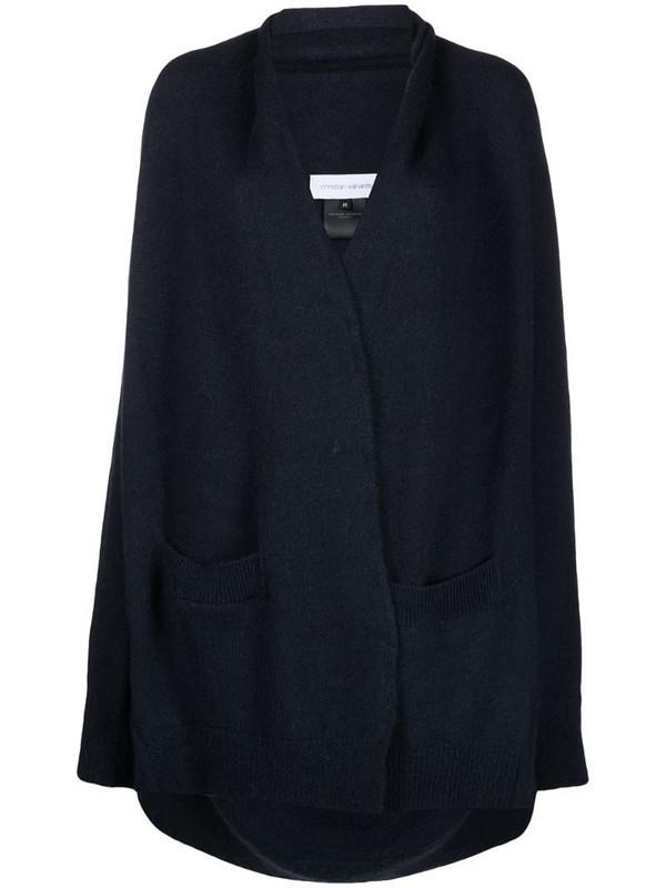 Christian Wijnants Keleen alpaca-wool cardi-coat in blue