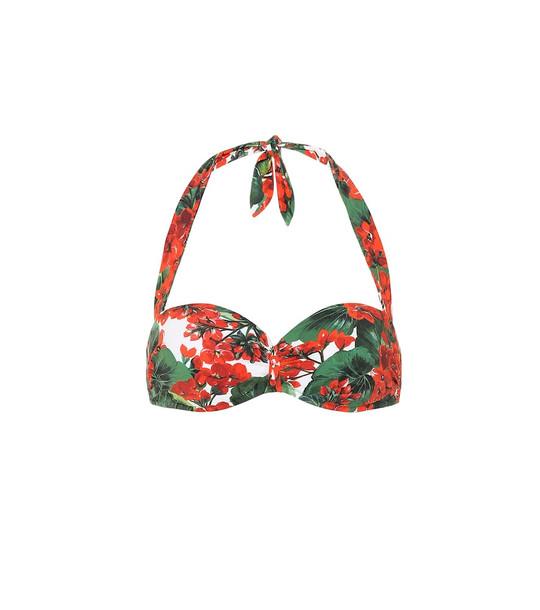 Dolce & Gabbana Floral bikini top