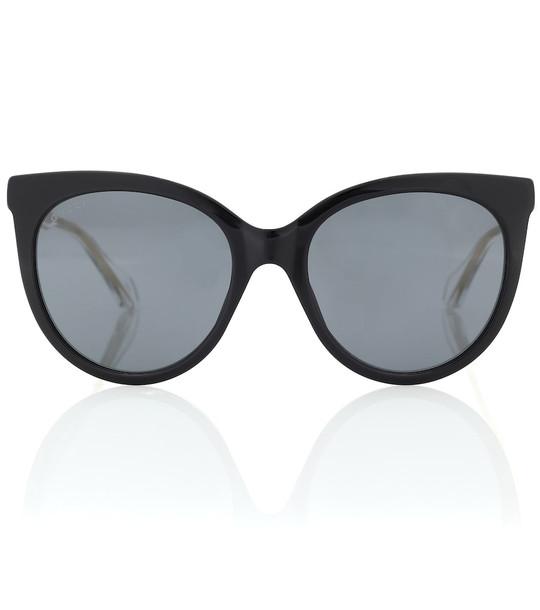 Gucci Cat-eye sunglasses in black