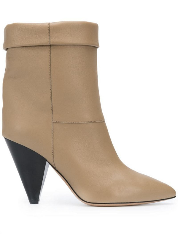 Isabel Marant Luido boots in neutrals