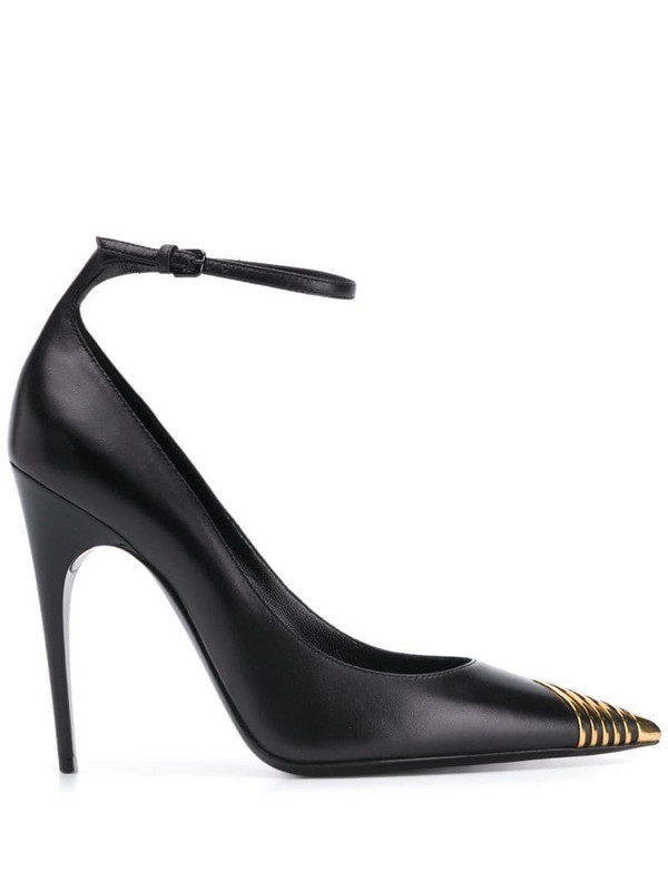Saint Laurent pointed-toe pumps in black