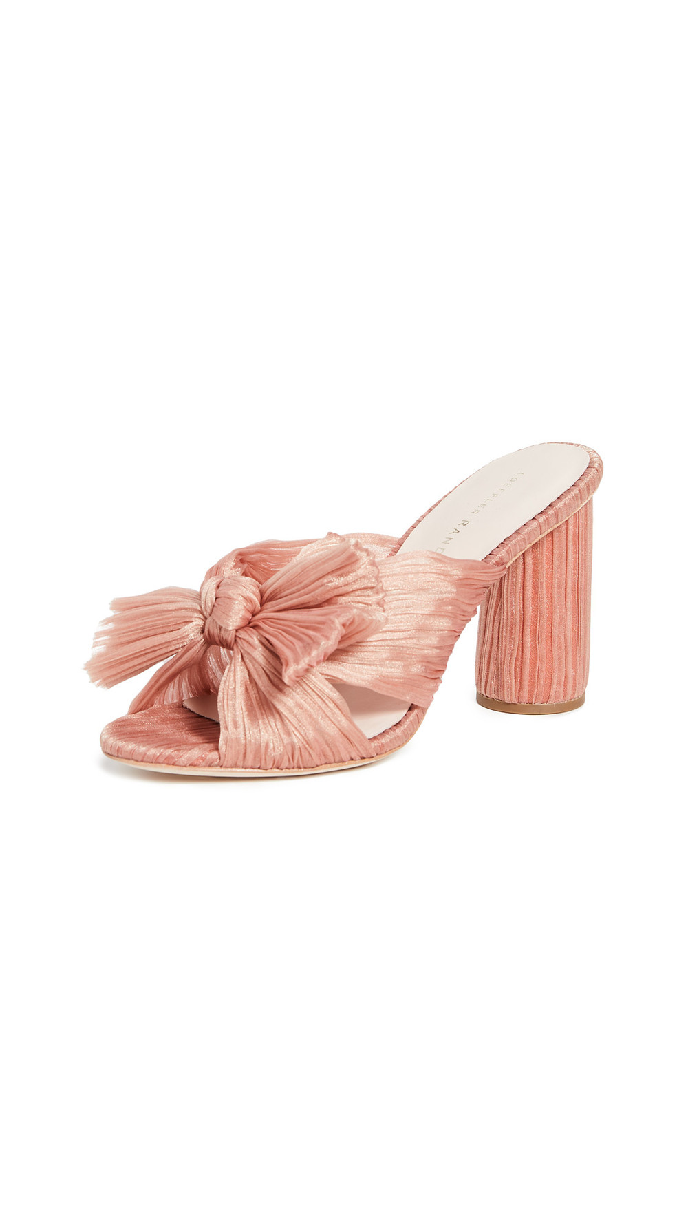 Loeffler Randall Penny Knot Mules in pink
