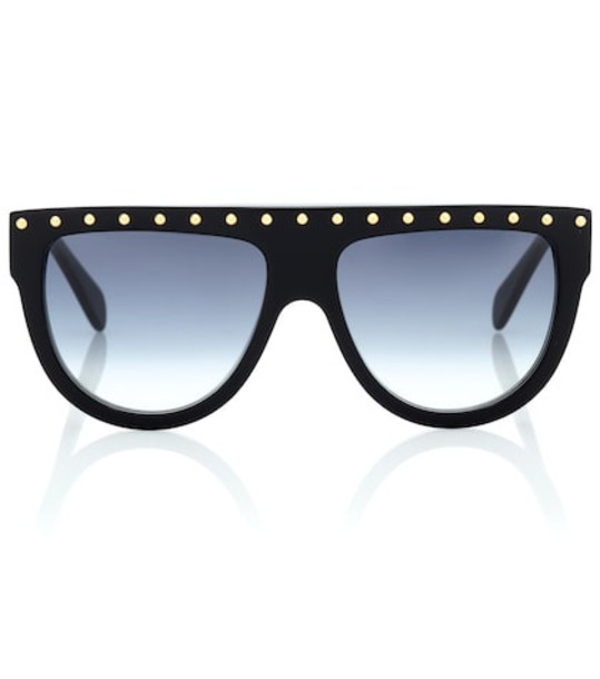 Celine Eyewear Embellished sunglasses in black