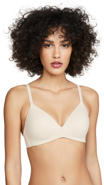 Wacoal How Perfect Wire Free Bra in natural