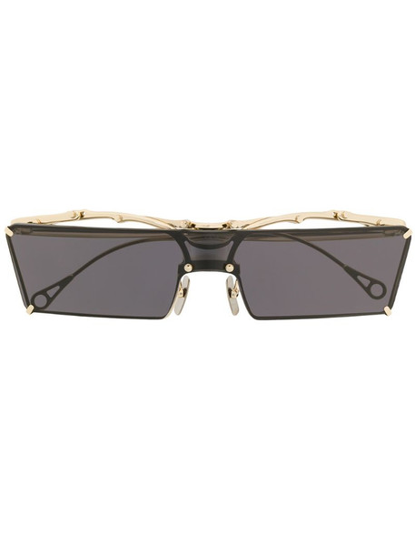 Innerraum rectangular frame sunglasses in gold