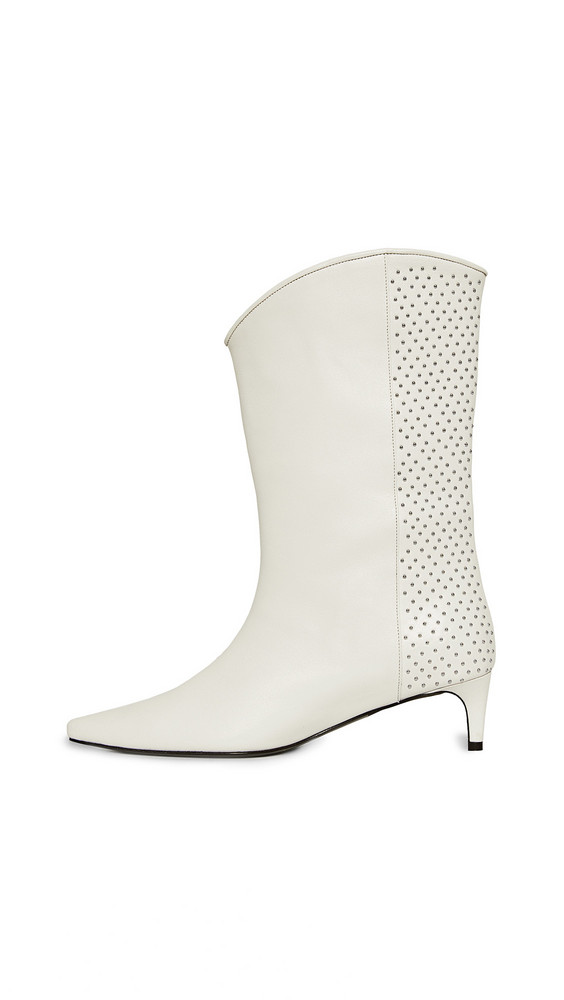 ANINE BING Reagan Boots in white