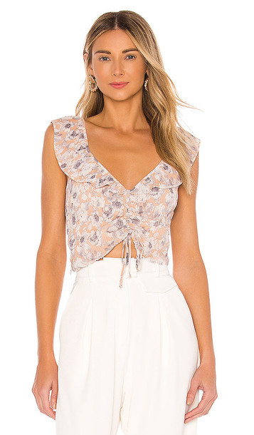 ASTR the Label Rue Top in Pink