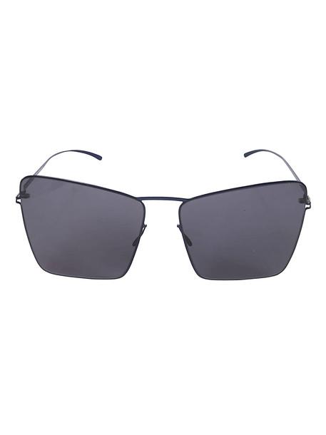 Maison Margiela Squared Sunglasses in blue