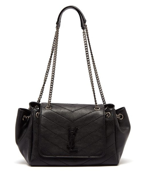 Saint Laurent - Nolita Small Quilted Leather Bag - Womens - Black
