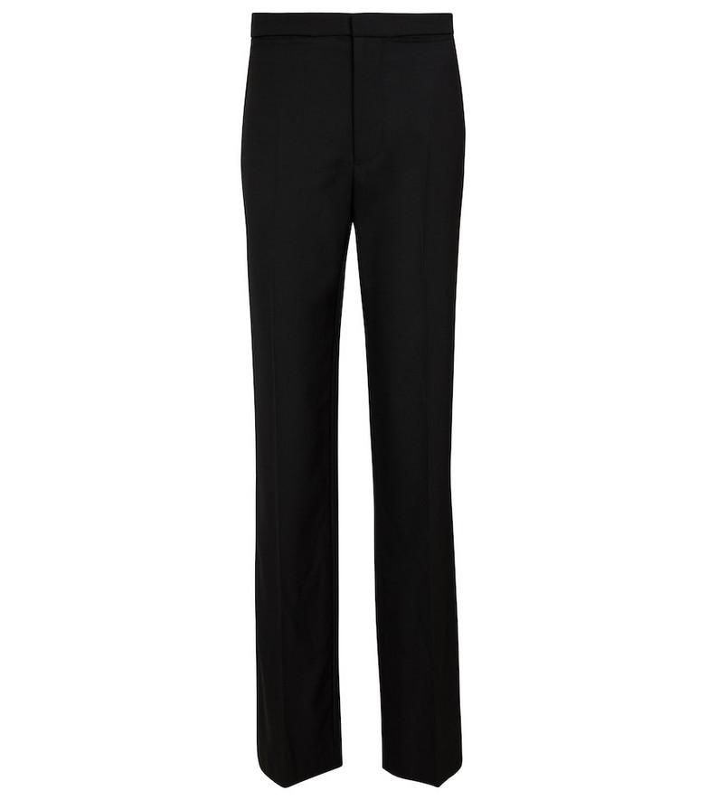 Ann Demeulemeester Lena virgin wool straight pants in black