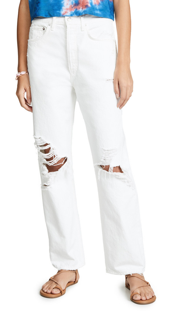 AGOLDE '90s Fit Jeans in white