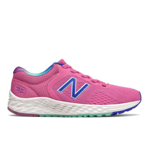 New Balance Arishi v2 Kids Big Kid Shoes - Pink/Blue (YAARIGC)