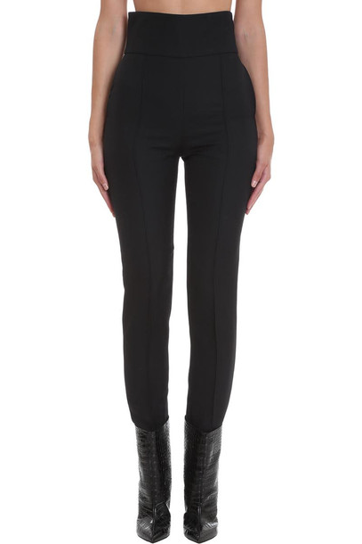 Alexandre Vauthier Pants In Black Wool