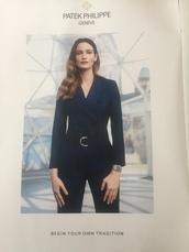 jumpsuit,chic,office outfits,blue,white,stripes,dark,blazer,suit
