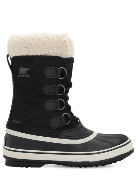 SOREL Winter Carnival Boots in black