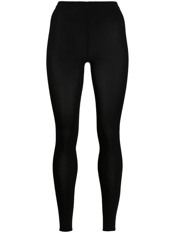 Wolford Velvet 66 leggings in black