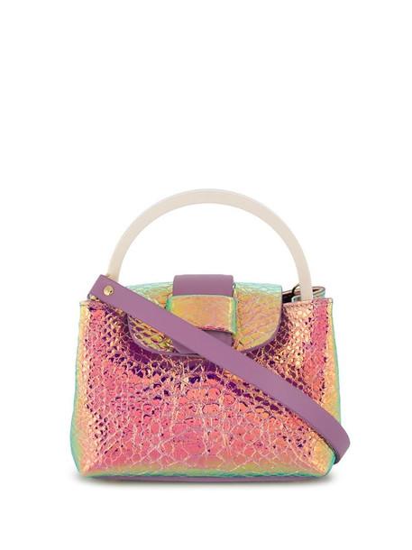 Nico Giani iridescent tote bag in purple