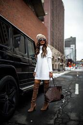 maria vizuete,mia mia mine,blogger,sweater,hat,shoes,sunglasses,coat,pants