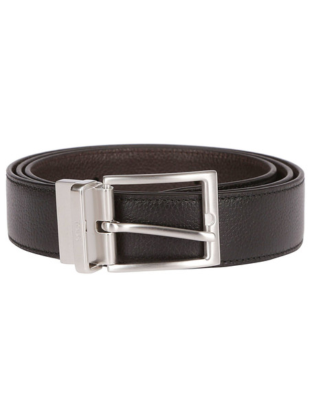 Tod's Square Buckle Belt in black