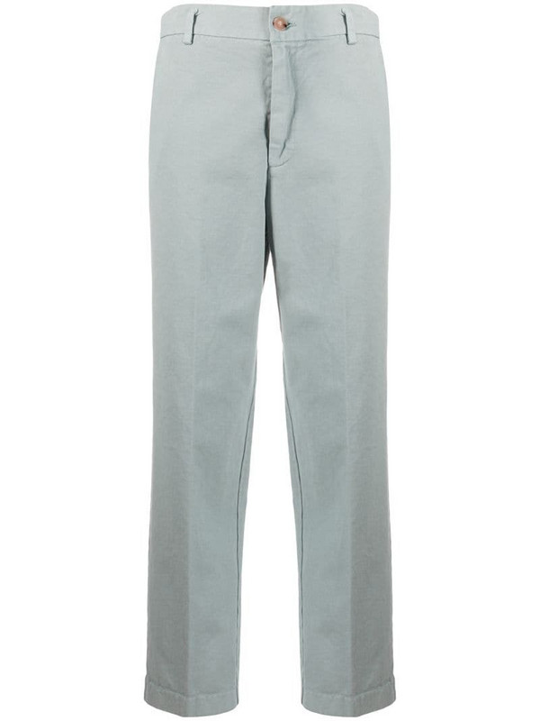 Forte Forte 2010s cropped pre-owned trousers in grey