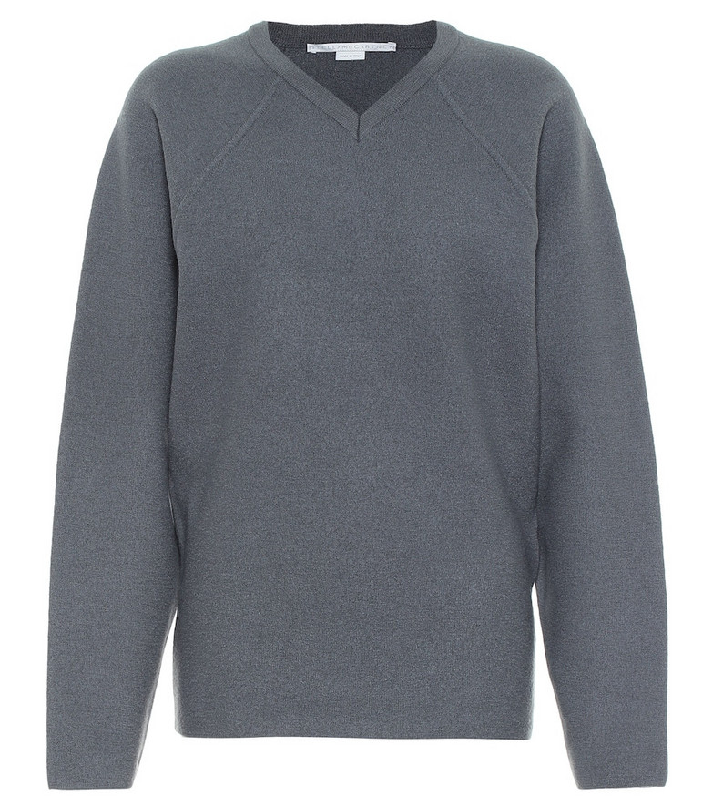 Stella McCartney Virgin wool sweater in grey
