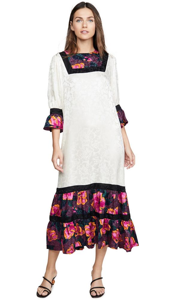 Warm Frida Dress in ivory