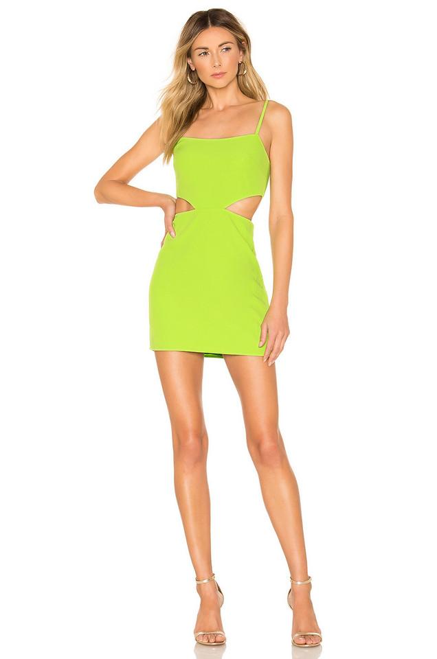 Lovers + Friends Brody Mini Dress in green
