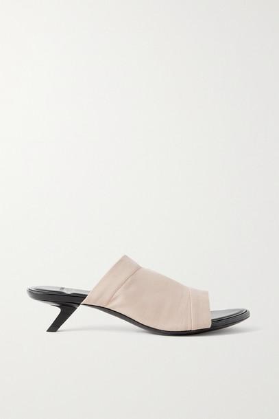 BALENCIAGA - Tight Stretch-knit Sandals - Neutrals
