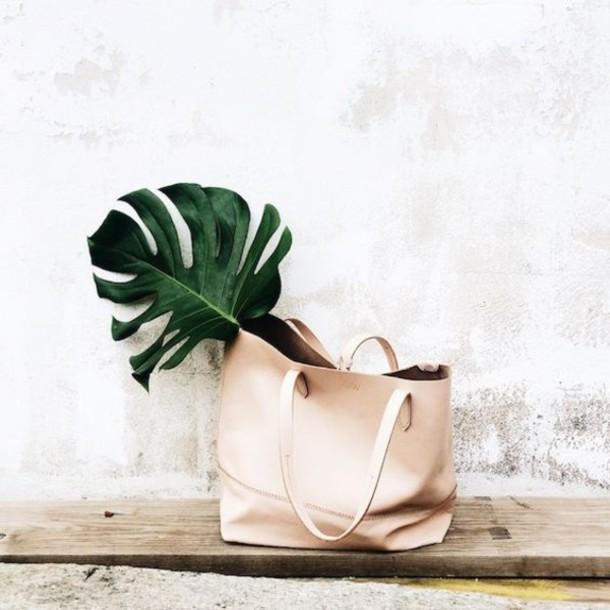bag leather bag leather tote bag tote bag mothers day gift idea minimalist classy