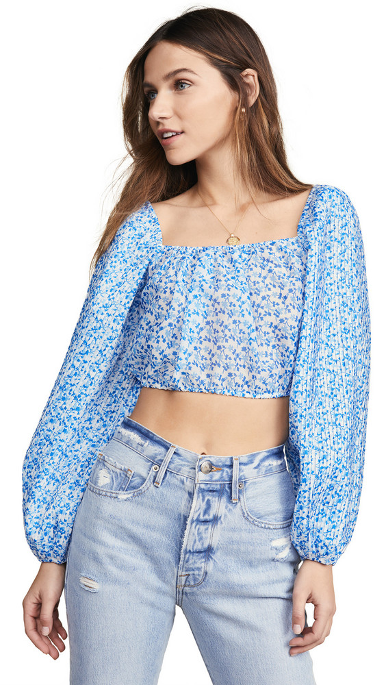 C/Meo Collective Come Across Top in blue