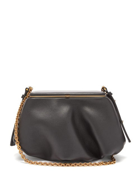 Lutz Morris - Barton Small Leather Shoulder Bag - Womens - Black