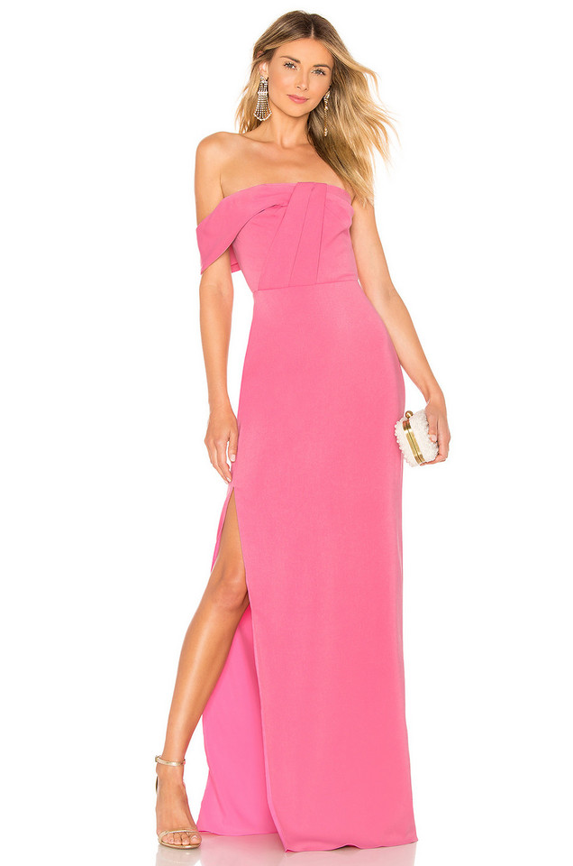 Jay Godfrey Belle Gown in pink