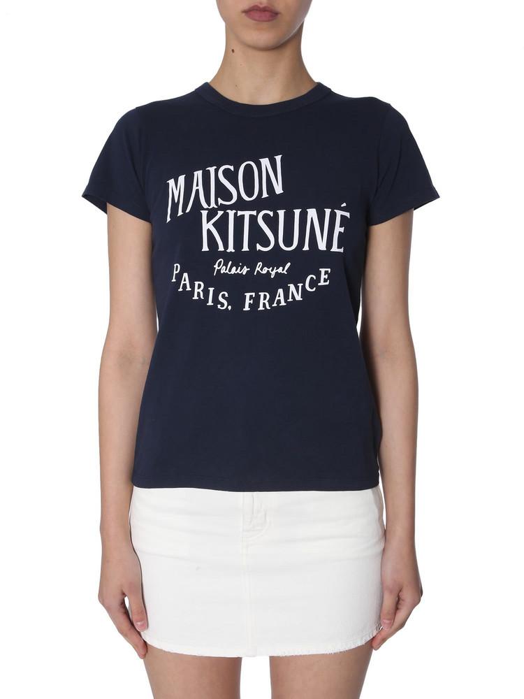 Maison Kitsuné Maison Kitsuné Palais Royal Print T-shirt
