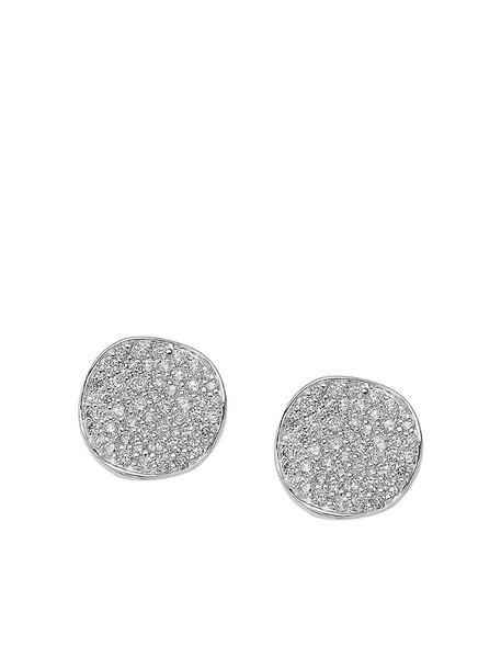 IPPOLITA sterling silver Stardust flower diamond stud earrings