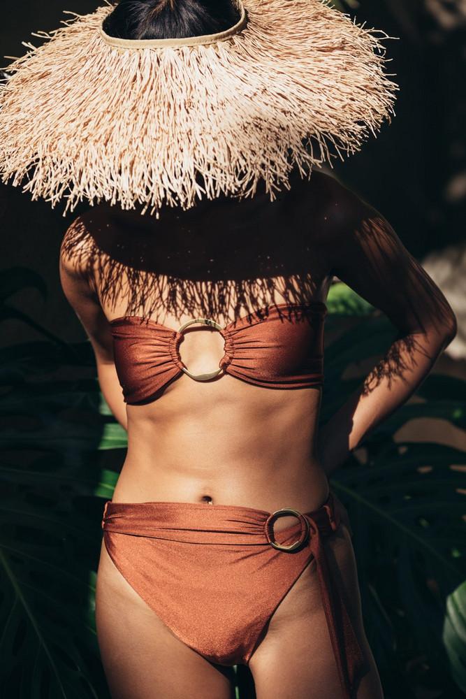 Cult Gaia Lexi Bikini Bottom - Dattero                                                                                               $139.00