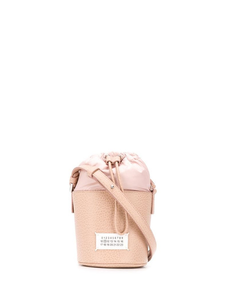 Maison Margiela micro 5AC bucket bag in neutrals
