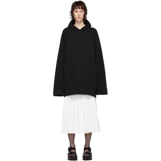 Undercover Black Oversized Hoodie