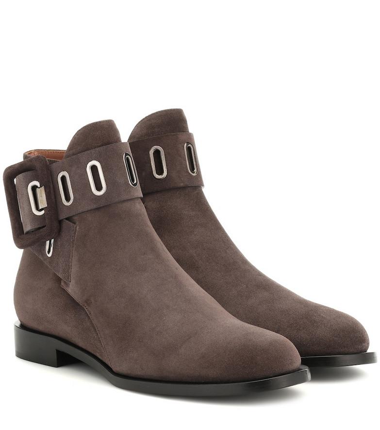 Samuele Failli Ele suede ankle boots in grey